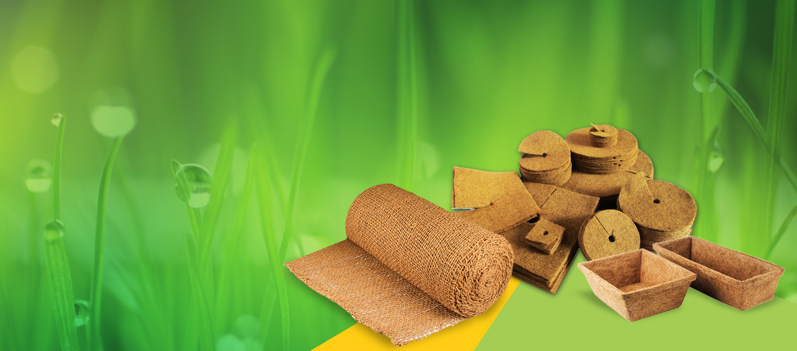 Eco- Friendly horticulture products made from the world's best coir