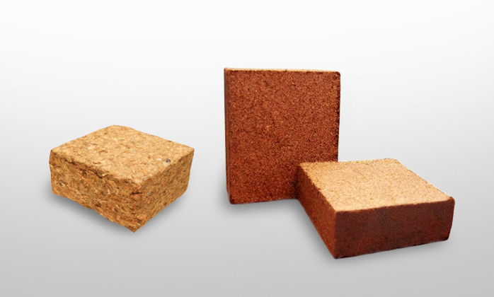 Coco Chip and Coco Peat Blocks